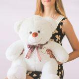 Медведь Томас 80 см с девушкой