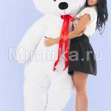 Купить белого мишку 2 метра Нестор